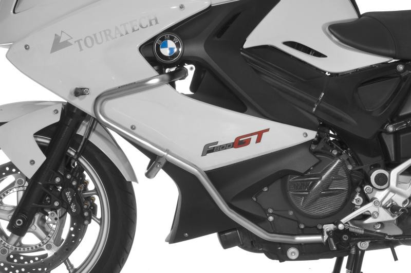 Extremely rugged protection for your BMW F800GT  Use these crashbars and even major falls will no longer be a horrifying experience. Help avoid expensive repairs.  - Produced specifically for the BMW F800GT - Made of high grade stainless steel